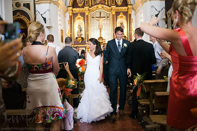 weddings in the iglesia de frigiliana, frigilian wedding photographer - ©jenniferjanephotography.com