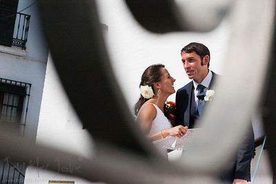 weddings in the iglesia de frigiliana, frigilian wedding photographer - ©jenniferjanephotography.com