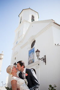 weddings at the iglesia de el salvador, nerja spain