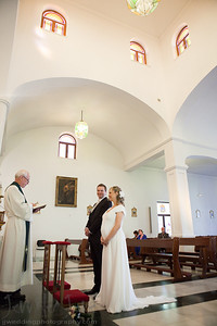 Wedding Photography -iglesia de santa domingo benalmadena pueblo spain- ©JJWeddingPhotography.com