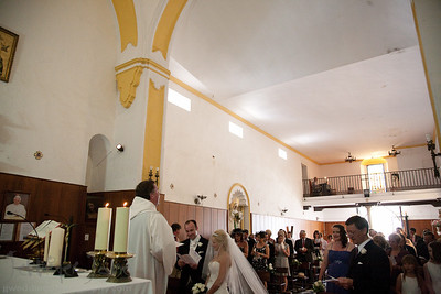 weddings in santo cristo church old town marbella spain wedding photographer - ©jjweddingphotography.com