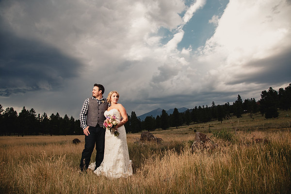 Cindy and Mark | Flagstaff Wedding