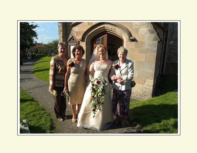 Bride's heritage group.