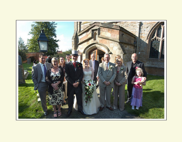 """<font color=""""red""""><b>Eleventh foldout:</b></font> Groom's full family"""