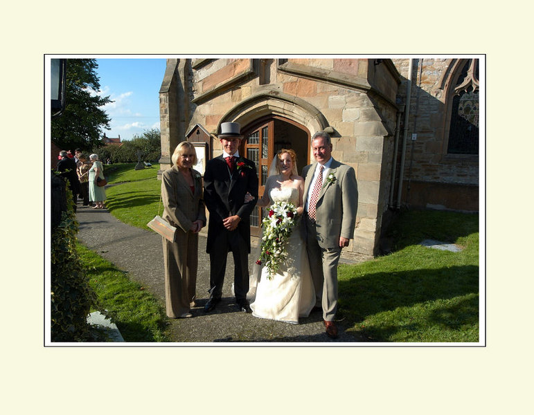 """<font color=""""red""""><b>Tenth foldout:</b></font> Groom's immediate family"""