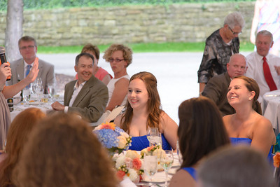 Claire and Spencer Reception
