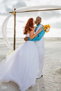 Clearwater Beach Wedding Elopement