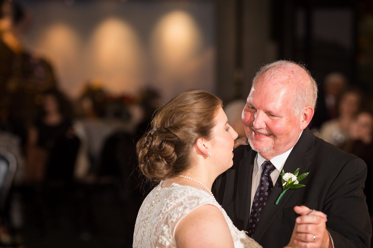 Andrea & Chris's wedding reception at the Kentucky Derby Museum in Louisville, Ky. 10.18.14.