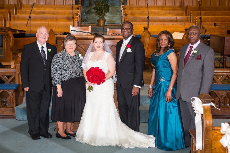 Andrea & Chris's wedding day at West End Baptist Church in Louisville, Ky. 10.18.14.