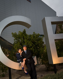 Andria & James wedding day in Las Vegas 12.12.12.