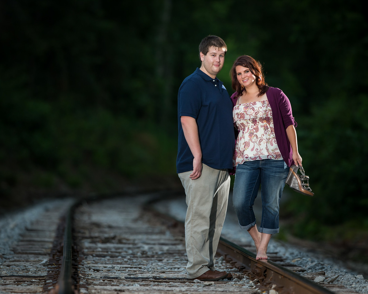 Brandie & Derrick along Pisgah Pike and in downtown Lexington, 7/16/14.