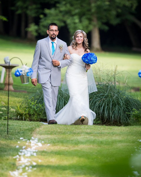 Brittany & Christopher's wedding day at Ducker's Lake Golf Club 8.08.15.
