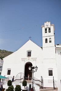 Marbella Based Artistic Female Photographer Jennifer Jane - Wedding Photo - San Antonio Church - Frigiliana. - Costa del Sol - Spain