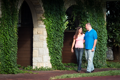 Claire & Dustin engagements at Keeneland and the Georgetown Airport 8.05.13.