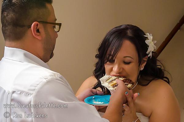 Deanna & Larry - The Cake