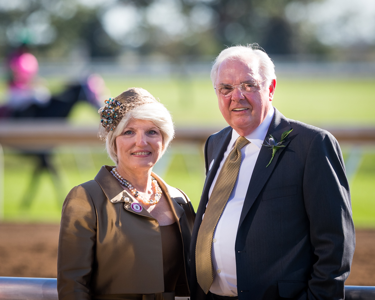 Edie & Dale's wedding celebration at Keeneland 10.11.15.