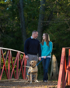 Elizabeth & Josh's engagements at Jacobson Park 10.27.13.