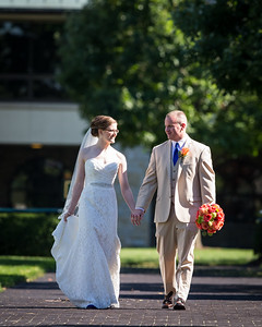 Elizabeth & Josh's wedding day at Keeneland 9.13.14