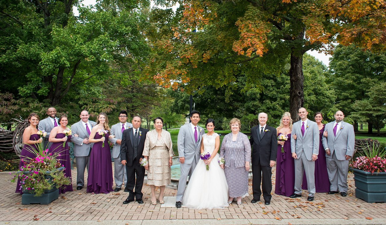 Elizabeth & Manny's wedding day at Spindletop 10.11.14.