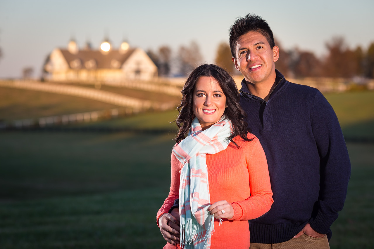 Elizabeth & Manny, Engagements in downtown Lexington and Keeneland 11.09.13.
