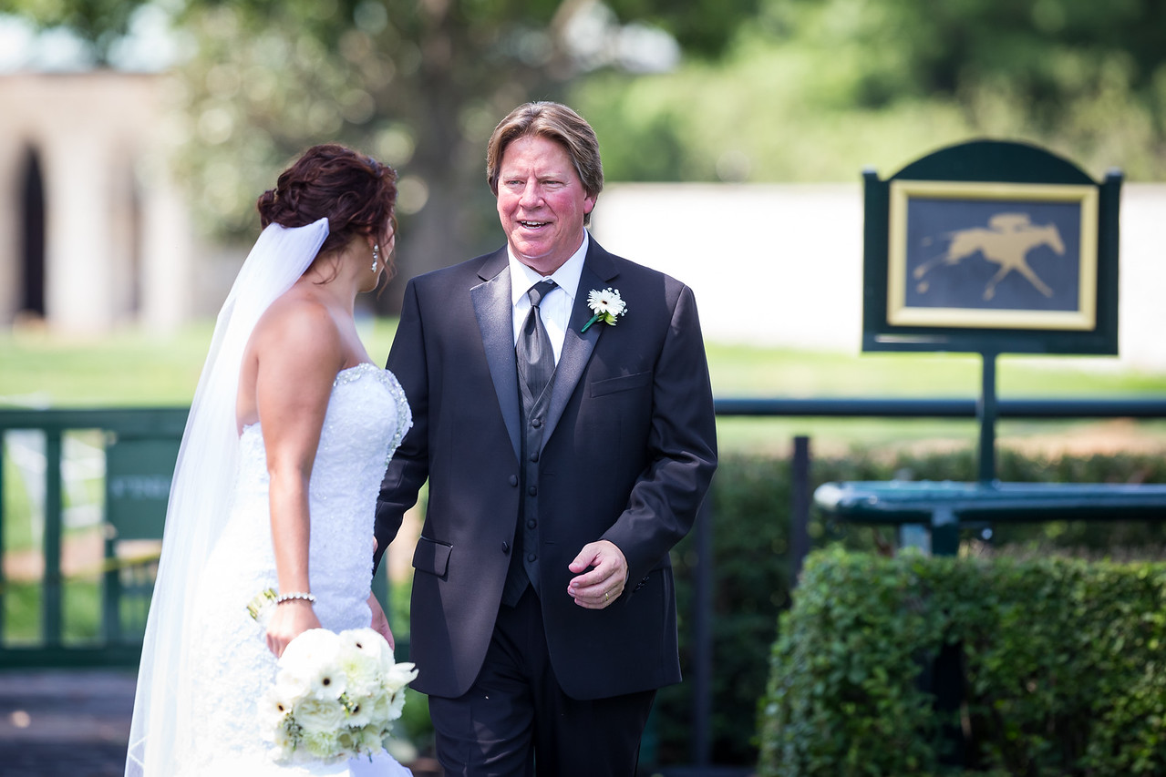 Emily & Ian's wedding day at Keeneland, 7.18.15.