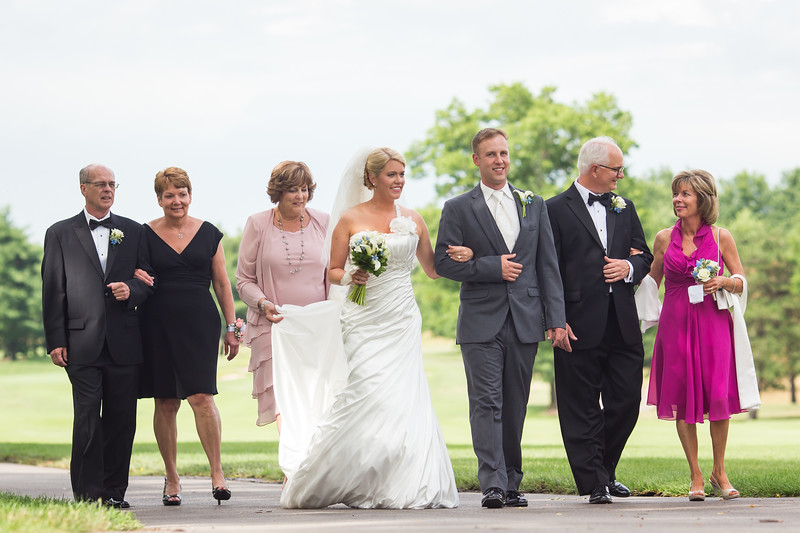 Emily & Matt's wedding day at St. Pauls' Church and Marriott's Griffin Gate Resort 6.28.14.