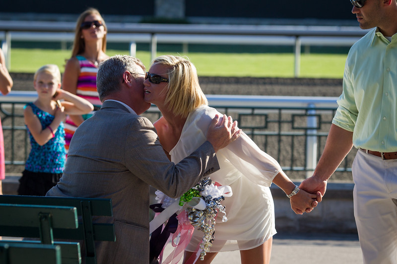 Heather & Tommy's Rehearsal at Keeneland and Dinner at Chuy's 6.22.2012