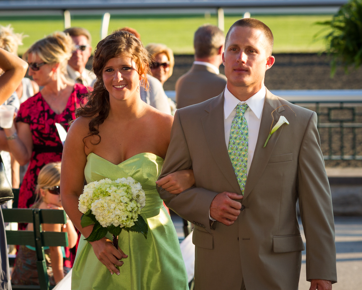 Heather & Tommy's Wedding Day at Keeneland 6.23.2012