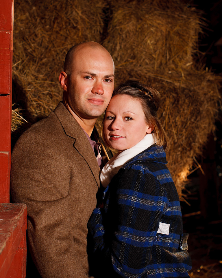 Heather & Tommy at Talon Winery 2.12.2012.