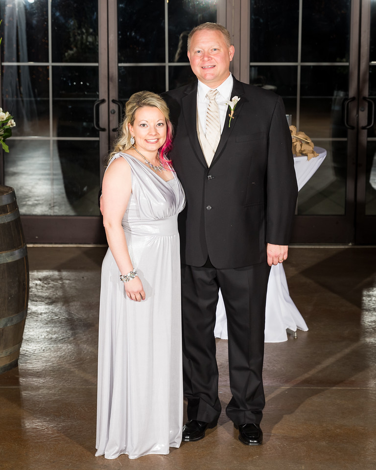 Julie & Roger's wedding day at Talon Winery 12.05.15.