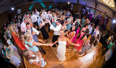 Kathryn & Blake's reception at Lexington's Hyatt Regency 7.19.14