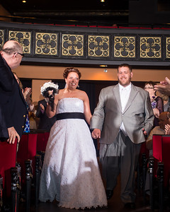Keara & Erik's wedding reception at the Grand Theater in Lancaster, Ky. 5.24.14.