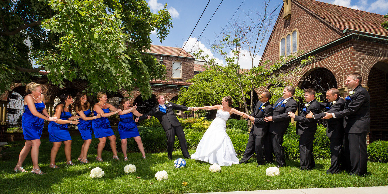 Kelly & Adam - Wedding at Central Christian Church, Reception at Equestrian Woods Clubhouse 7.28.2012.