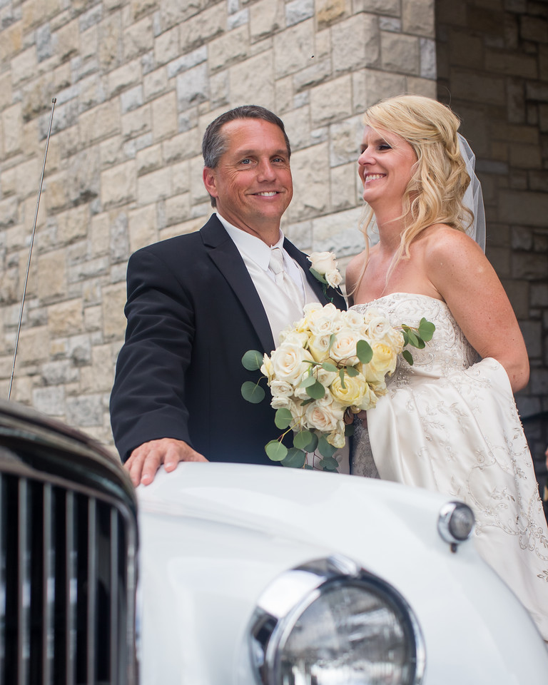 Kelly & Brad's reception at Keeneland 6.21.14.