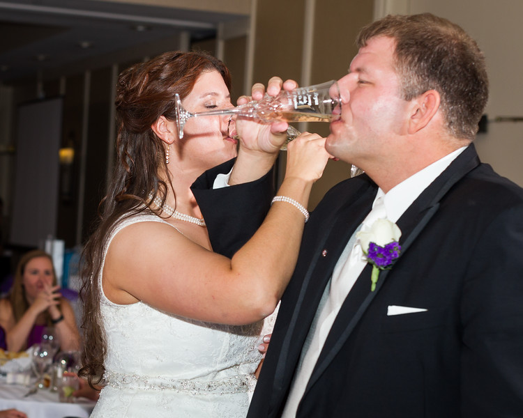 Kris & Bryan, Wedding at St. Peter, Bridal Party in Downtown Lexington, Reception at the Hilton, 9/1/12.