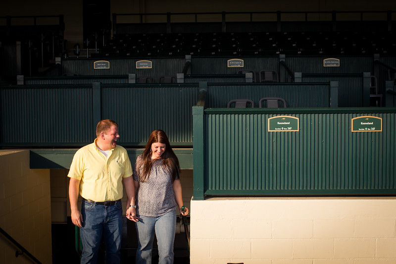 Kris & Bryan at Keeneland 5.16.2012