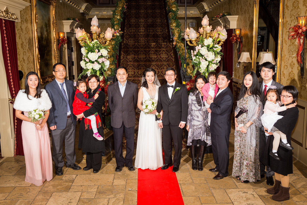 Lian & Li's wedding day at the Castle 12.20.15.