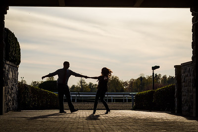 Lizzy & Aaron at Keeneland 10.16.2012