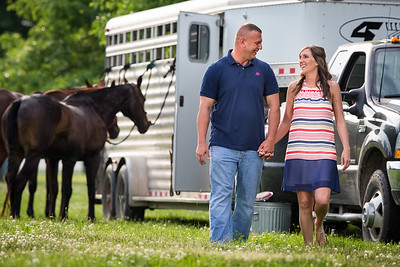 Mallory and Allen at the Ky. Horse Park 5.28.14.
