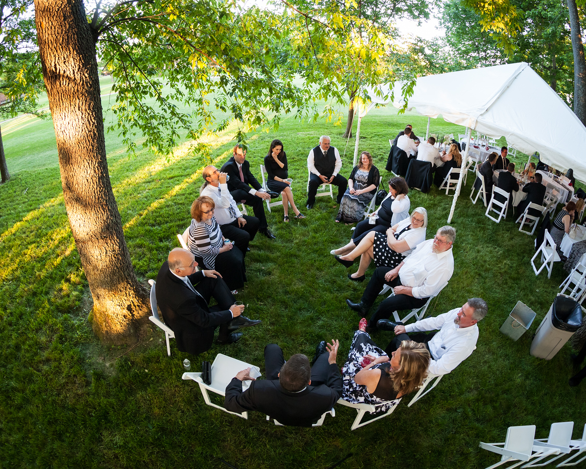Nanci & Aaron's wedding day at their home in Andover, 5.23.15.