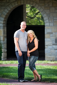 Nicole & Jeff, Engagements at Keeneland 7.16.13.