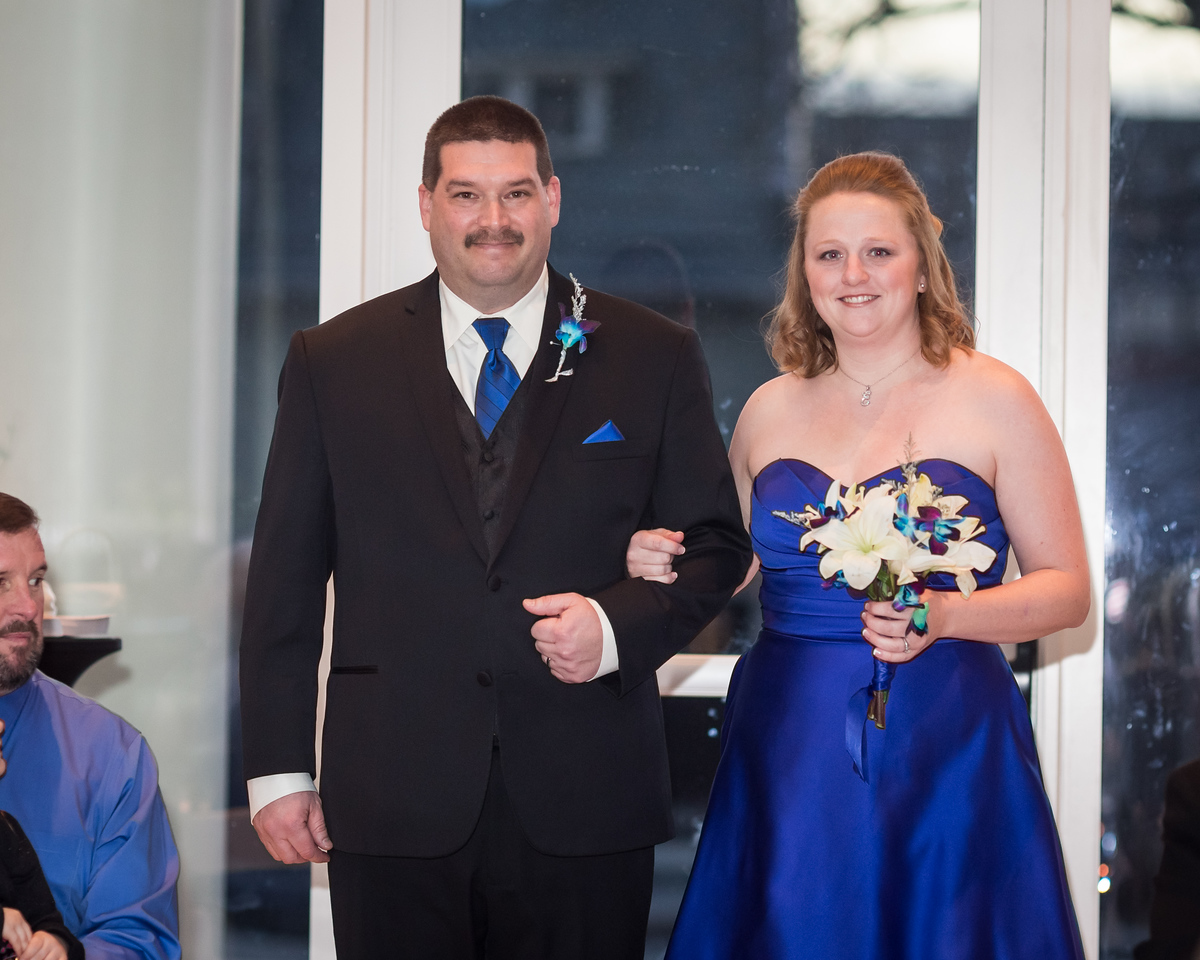 Nicole & Jeff's wedding at the Carrick House 2.22.14.