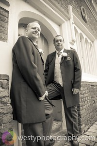 Clare & Paul 040512 bw-2