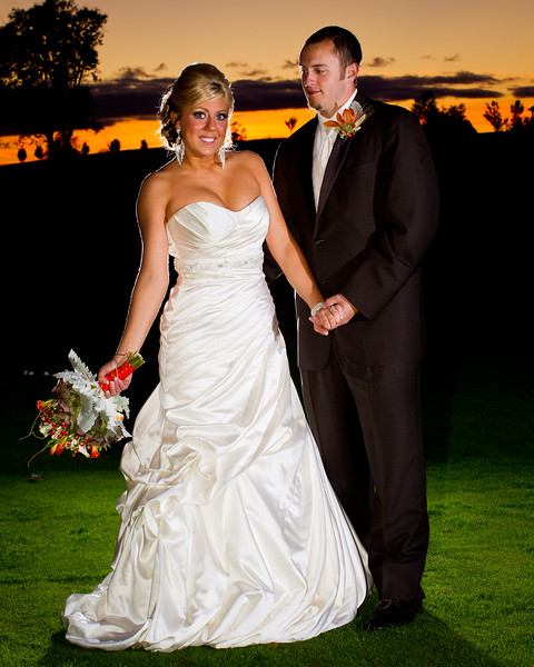 Rachel & Mike, wedding night at Keene Run Country Club, 10.01.2011