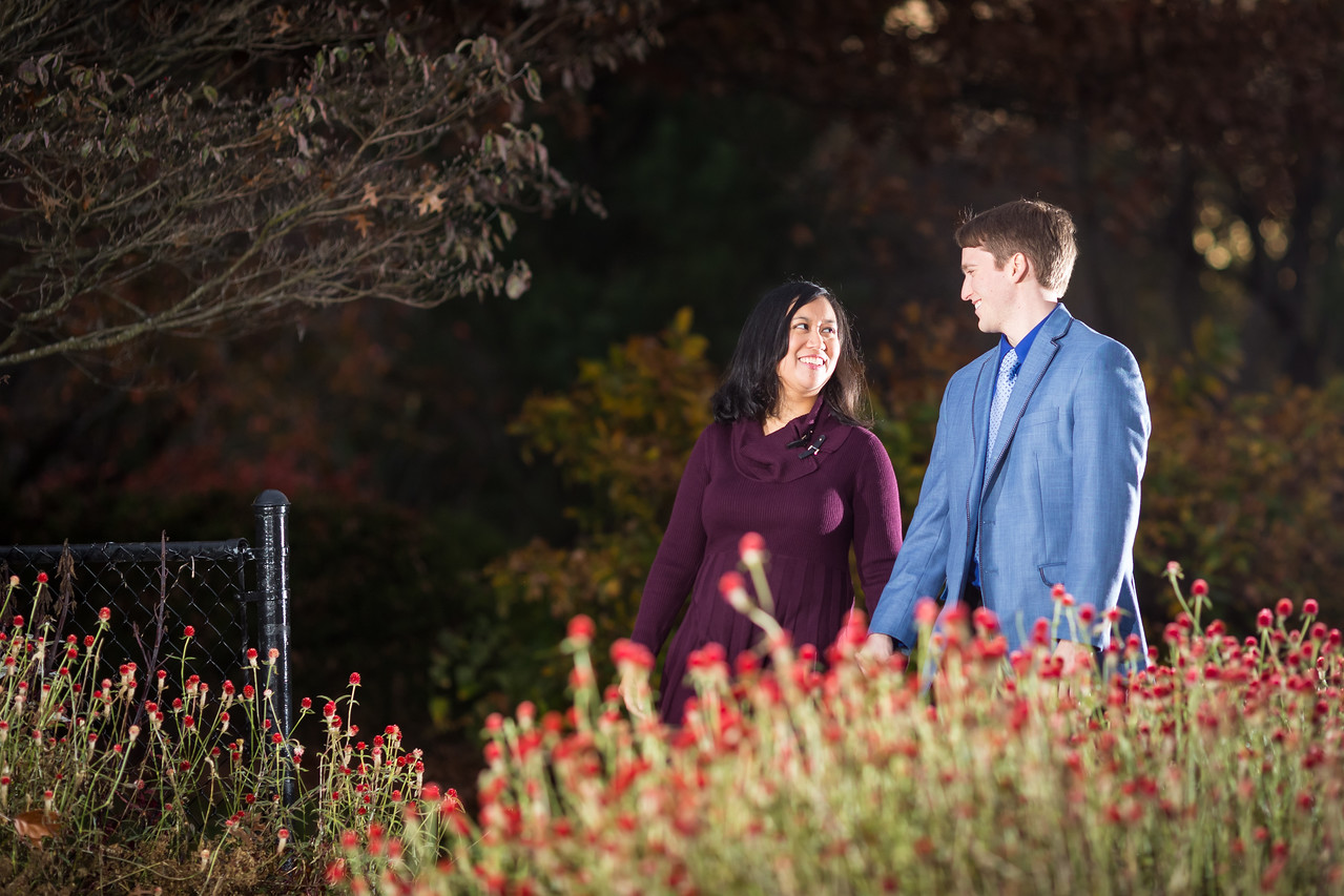 Roze & Corey's engagements at the UK Arboretum 11.11.15.