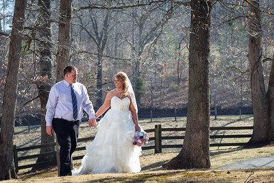 Stephanie & Ben's wedding day in Olive Hill, Ky. 3.22.14.