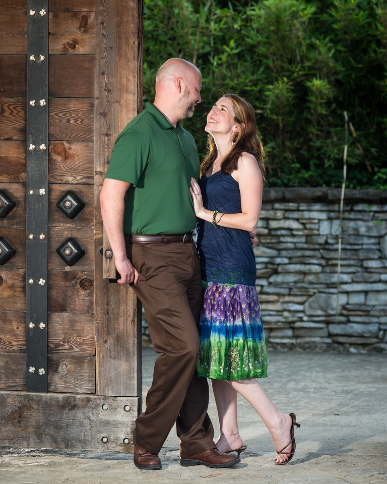 Stephanie & Brian at the Japanese Garden and The Cardome Center in Georgetown 7.31.13.