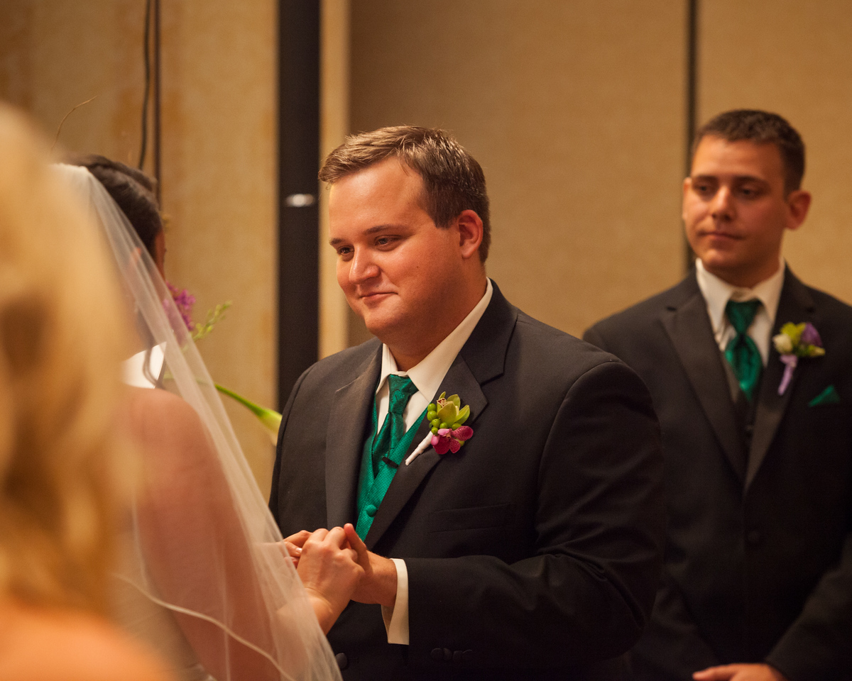 Stephanie & Cullen's wedding day at Marriott's Griffin Gate Mansion 6.08.14.