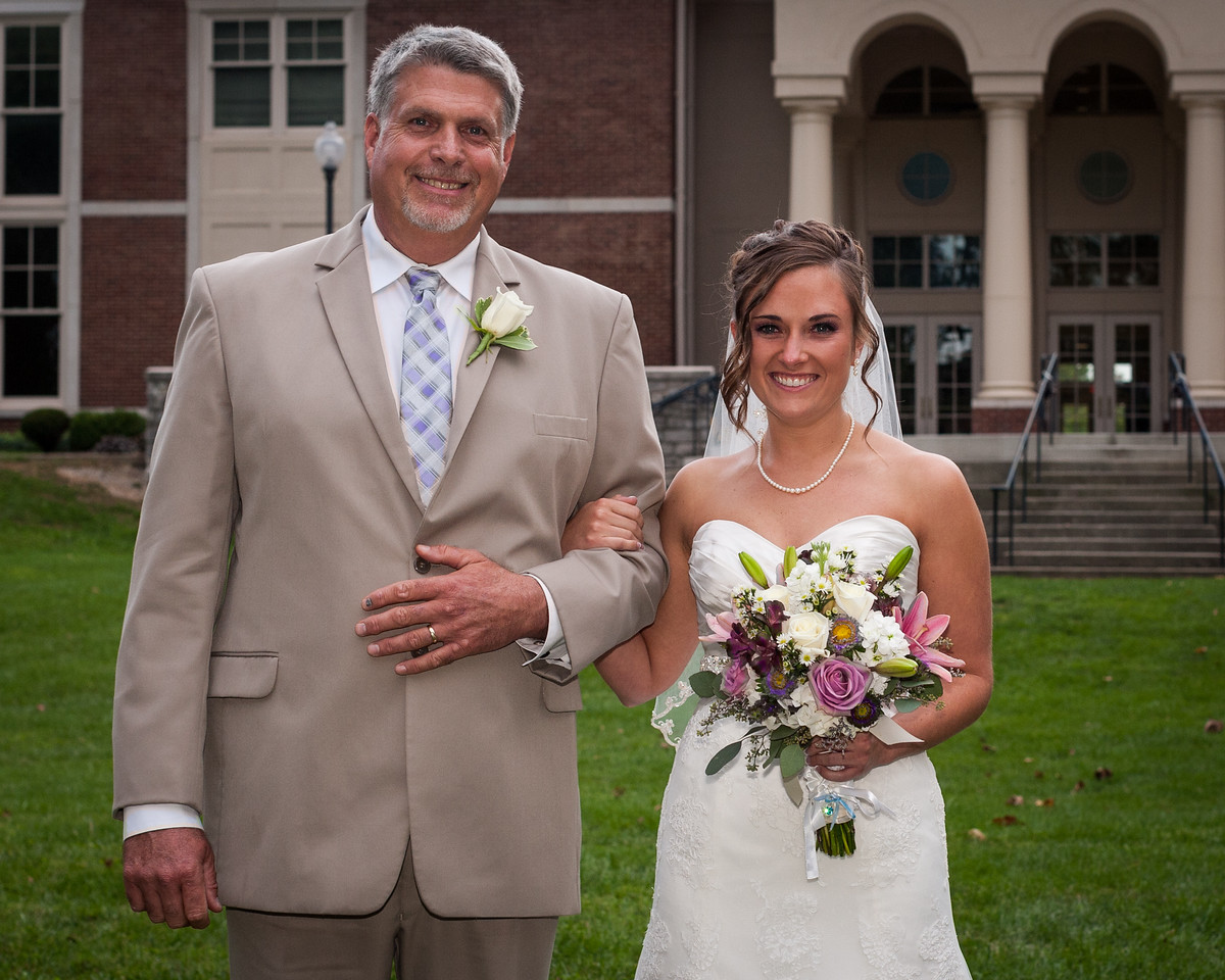 Tara & Blake wedding at Midway College 9.15.2012