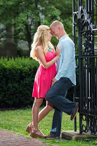 Weslee & Bill's engagements at Gratz Park and Talon Winery 6.27.14